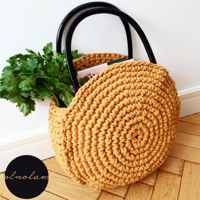 Paulina Crochet Bag Pattern | Pilné ruky, čistá myseľ!